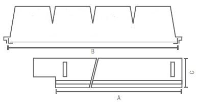 GA-LPV-DAMPA-LED Line medidas