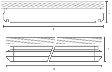 GA-SCR-PR-LED Line medidas