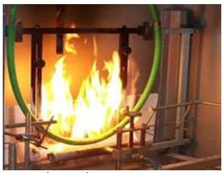 Ünika Pruebas de resistencia al fuego con agua-spray de impacto