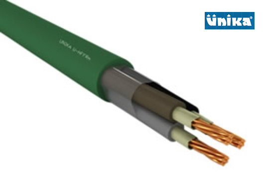 U-HFFR m Shipboard 0,6/1kV Fire Resistant Unscreened Power and Lighting Cable