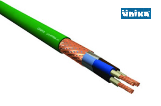 U-HFFRA m Shipboard 0,6/1kV Fire Resistant Screened Power and Lighting Cable