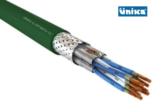 U-HFFRAT m (I) Shipboard 250V Fire Resistant Individually Screened Telecommunication and Control Cable