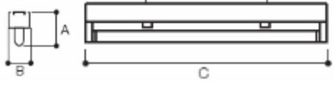 Regleta GA/RG-Germicida-UVC