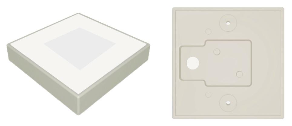 Aplique GA/SQ 115-3 LED