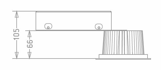 Downlight GA/Amada-LED
